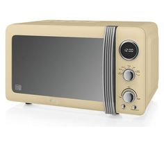 Buy Swan SM22030CN 20L 800W Standard ET Microwave - Cream at Argos.co.uk - Your Online Shop for Microwaves, Kitchen electricals, Home and garden.