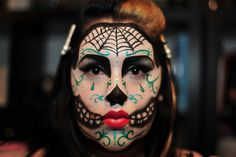 Day of the dead fashion/fantasy by Suzie Makeup Artist, via Flickr