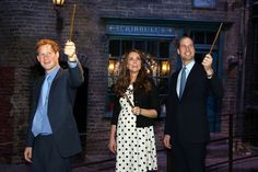 The royals' Harry Potter Studio tour