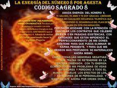 Ángeles Amor: PODEROSA VIBRACION ENERGETICA DEL NUMERO 8 Por Jose Gabriel Agesta