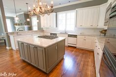 Best Kitchen Makeover Sherwin Williams Alabaster Kitchen 400 x 300