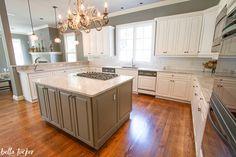 Best Kitchen Makeover Sherwin Williams Alabaster Kitchen 400 x 300