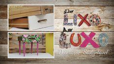 Transforme aquela gaveta velha em uma peça decorativa bem versátil e cheia de charme!