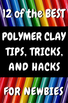 Isn't polymer clay the coolest? The bright colors, the squishiness, oh the possibilities. But it's not all sunshine and rainbows if you don't know these hacks, tips and tricks to using polymer clay. ^^ CLIK PIN FOR MORE INFO ^^ Clay Crafts For Adults Sculpey Clay, Polymer Clay Projects, Polymer Clay Creations, Polymer Clay Beads, Polymer Clay Tutorials, Polymer Clay Miniatures, Baking Polymer Clay, Polymer Clay Recipe, Sculpting Tutorials