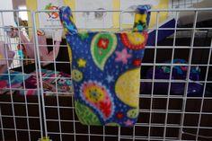Paisley turtles hay bag, Guinea pig hay bag, guinea pig fleece, hay holder, fleece cage accessories, hay holder, food holder, C&C cage by CreatedbyLauraB on Etsy
