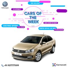#CarsOfTheWeek : Vento GP HL 1.5l DSG (Titanium Beige) Our Cars of the Week offers some highlight deals and models that deserve your attention! Make sure you check back regularly for the latest updates!