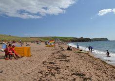 Thurlestone Beach - Thurlestone, Kingsbridge, Devon, TQ7 3JS #dogfriendly beach all year