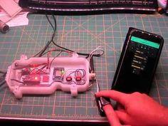 IoT Garage Door Monitor/Opener with Finger Print Scanner | PlastiBots