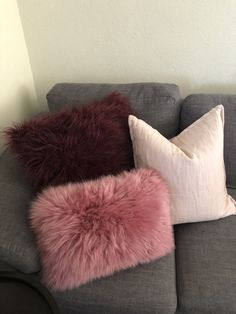 Cushions 💖 large by Kmart au Pink and fur Adairs au