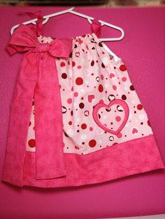 Little Girls Pillow Case Dress on Etsy