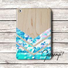 Cute Grain Wood Triangle iPad Air Case iPad Case iPad by Gazooomp, $22.75