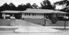 At 8:44 am Vernon, Gladys, Elvis signed papers to complete the purchase of their new home on Audubon Dr. 3-12-56