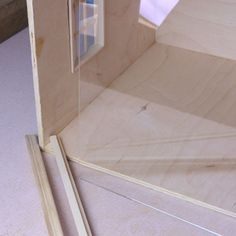 Add Channels for a Glass Roof or Front to Your Dolls House Roombox