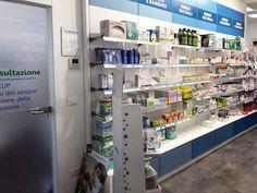 Farmacia Cimabue - AGELL Arredamento Farmacie e Ottici Lockers, Locker Storage, Cabinet, Furniture, Home Decor, Pharmacy, Clothes Stand, Decoration Home, Room Decor