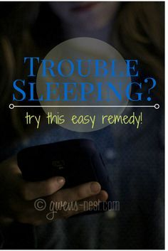 This really works! I'm telling everyone I know-SUCH a simple and free remedy to getting better sleep!