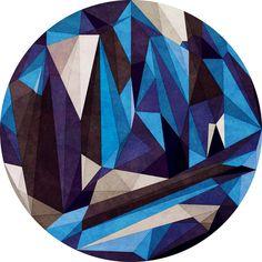 Blue Something Art Print
