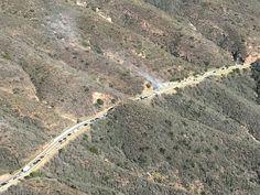 Vehicle Fire Shuts Down Section of SR-154 - Edhat Real News - Santa Barbara Edhat