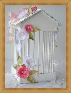 Jaula Romántica Decorativa http://manualidadesamigas.foroargentina.net/