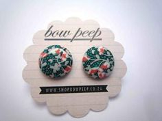 floral. Nail Jewelry, Jewelery, Button Earrings, Stud Earrings, Peeps, Bows, Style Inspiration, Floral, Cute