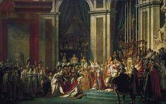 Incoronazione di Napoleone Bonaparte, 1805-1807, olio su tela, Musée du Louvre, Parigi
