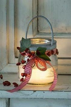 Christmas lanterns are exceptionally cute and add a contact of uniqueness to the general Christmas decor. Let alone the eerie and the classic atmosphere that it creates, utilizing Christmas lanterns might be the most effective Christmas Lanterns, Noel Christmas, Country Christmas, Winter Christmas, All Things Christmas, Christmas Decorations, Christmas Ornaments, Lantern Decorations, Homemade Christmas