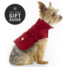 My MIss Molly would look adorable in this!  Best in Show: The Chicest Pet Gifts on the Market