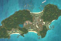 Thom Island Resort Masterplan   SALA Design Group