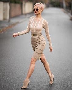 Micah Gianneli  — ✨ Shades, bodysuit & skirt from @windsorstore...