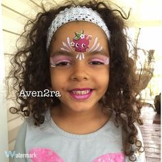 Shopkins face painting- aven2ra