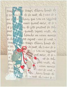 """Couleuretscrap : Tampons et matrices de coupe (dies) #4enSCRAP """"Bonnes fêtes #2"""""""