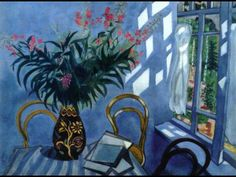 """Interior With Flowers"" by Marc Chagall"