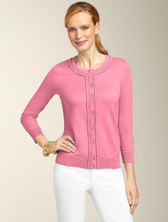 Talbots - Back Keyhole Sweater | Sweaters | Misses | Fashion ...