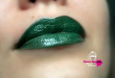 That's one way to dress for Xmas!! ;)  Green Lipstick Nourishing  Mystical Forest  All by FierceMagenta