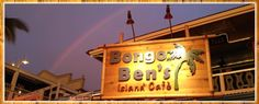 Bongo Ben's Island Café Voted Kona's Best Breakfast for 2013, an extensive breakfast, lunch, and dinner menu includes daily specials and the catch of the day. Friendly staff provide genuine heartfelt hospitality and talented local musicians complete your Hawaiian dining experience.