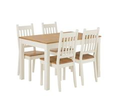 Buy Home Of Style Tiverton Dining Table With 4 Chairs At Argoscouk