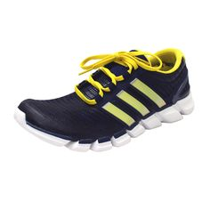 Adidas University of Michigan Men's Navy AdiPURE CrazyQuick Running Shoes
