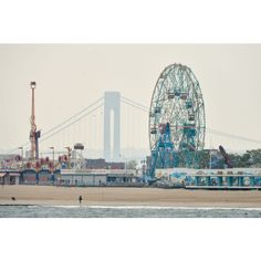 Coney Island Beach Boardwalk ❤ This view has such a special place in my heart