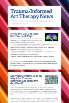 Trauma-Informed Art Therapy News, Links, Resources, Video and more!