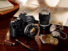 nikon's full-frame Df pays homage to retro 35mm film cameras - designboom | architecture