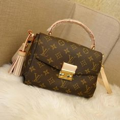 Louis Vuitton Croisette Monogram bag