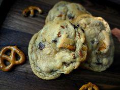 Pretzel Chocolate Chip Peanut Butter Cookies