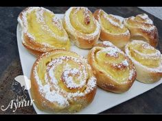 Do you know the delicious pudding snails from the bakery? these taste just as delicious - Sites new Easy Cake Recipes, Fall Recipes, Sweet Recipes, Dessert Recipes, Mango Ice Cream, Pudding Desserts, Pampered Chef, Restaurants, Bakery