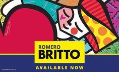 Romero Britto at Miva Fine Art Galleries Sweden