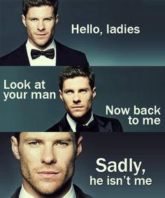 Handsome Xabi Alonso (I´m a man and I´m saying that... :/ )