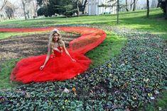 Rüyaların Anlamları: Kırmızı Gelinlik GiymekRüyada kırmızı gelinlik giy...
