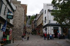 Old Quebec inside the Walls: Wandering around the old city was (I imagine) like taking a trip into the past with stunningly beautiful cobble-stoned streets and stone buildings housing superb cafes, boutiques and bistros all with a quaint and elegant European feel. Most definitely one of the highlights of any trip to Quebec City, a must do for all ages.