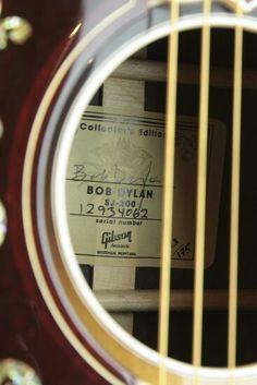 Bob Dylan Limited Edition SJ-200 Gibson.