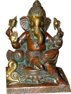Ganesha Statue, Yoga Brass Sculpture Ganesh Seated in Royal Ease Posture Hindu God Statue 12inchs by Mogul Interior, http://www.amazon.com/dp/B00CIJAAHE/ref=cm_sw_r_pi_dp_HC9Mrb15CEV5M