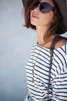 SHORT SHORTS & STRIPES | Les babioles de Zoé : blog mode et tendances, bons plans shopping, bijoux | Bloglovin'