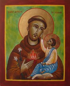 """""""Just as the root feeds the tree, so humility feeds the soul. The spirit of humility is sweeter than honey, and whoever is fed by this sweetness produces fruit"""". Anthony of Padua Saint Antonio, St Anthony's, Religious Icons, Catholic Saints, Orthodox Icons, Jesus Loves, Prayers, Christian, Illustration"""